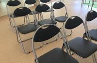 杉並 レンタルスタジオ パイプ椅子
