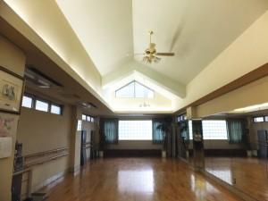 下高井戸のダンススタジオ
