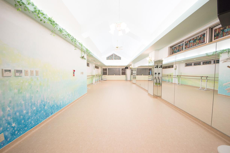 杉並区 京王線 下高井戸駅 レンタルスタジオ 杉並ダンスアトリウム3