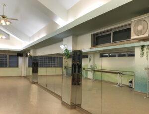 ウイルス対策 レンタルスタジオ コロナウイルス対策杉並 京王線 下高井戸 ダンススタジオ 換気 換気扇